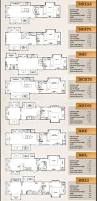 Keystone Trailers Floor Plans by Continental Coach 43 U0027 Double Bedroom Floorplans Rv U0027s With Bunk