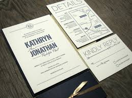 wedding invitations navy navy and gold wedding invitations plumegiant