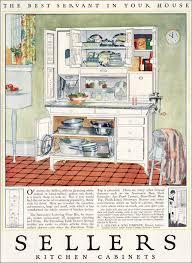 Sellers Kitchen Cabinet | 1923 sellers kitchen cabinets vintage kitchen design inspiration