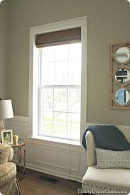Wainscoting Around Windows Diy Craftsman Window Trim From Thrifty Decor