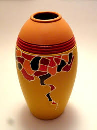 Hand Painted Vase Hand Painted Vases Manufacturer From Thane