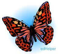 butterflies and moths theme printables and worksheets