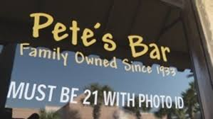 sign for thanksgiving pete u0027s bar open for thanksgiving celebration