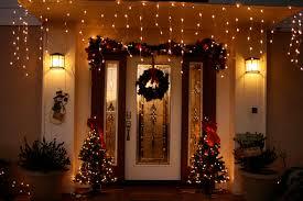 living room luxury front door with small tree