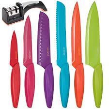 kinds of kitchen knives amazon com stainless steel kitchen knife set 13 bonus