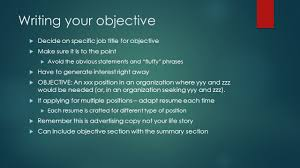 Summary Section Of Resume Resume Writing Key To Landing Your Dream Job What Is A Resume