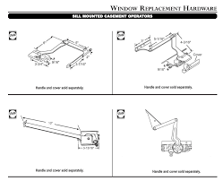 Peachtree Window Parts by Integrated Casement Roto Operator Left Hand 2000 Present