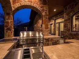 Interior Stone Arches 20 Modern Outdoor Kitchen Ideas