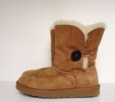 womens ugg boots australia ugg brownwedges boots size 6 fashion