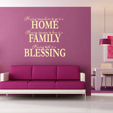 wall art design ideas home family wall art writing and blessing