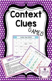 bunch ideas of teaching context clues to third graders about