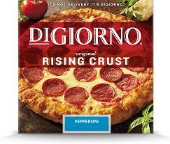 rising crust pepperoni pizza digiorno