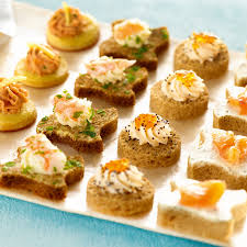 cuisine canapé seafood canape selection thaw serve holdsworth foods