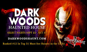 home dark woods haunted attraction natchitoches louisiana