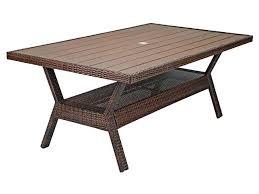 resin patio table with umbrella hole patio furniture resin mbtshoeswomen us