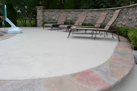 Backyard Concrete Patio Ideas by Glamorous Concrete Patio Ideas For Small Backyards Images Design