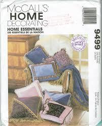 home decor essentials mccall u0027s 9499 home decor essentials from creativebrainworks on