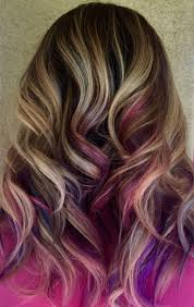 pink highlighted hair over 50 17 gorgeous outfits for early spring 2018 purple peekaboo