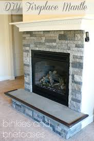 remodel fireplace mantel corner fireplaces large tile western