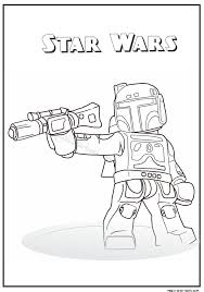 32 star wars coloring pages free images