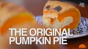 thanksgiving pumpkin pie the original recipe pie in a pumpkin