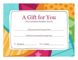 gift voucher samples birthday gift certificate template word 2010 u2026 pinteres u2026
