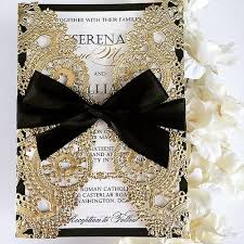 bling wedding invitations black and gold wedding invitations europe tripsleep co