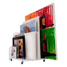 Unique Storage The Dryden Art And Canvas Keeper A Unique And Convenient Storage