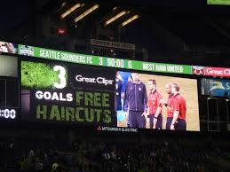 did you attend the sounders game last night if so receive a