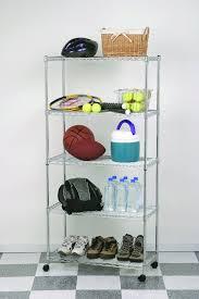 5 Tier Wire Shelving by 5 Tier Wire Storage Unit Adjustable Shelf Home Kitchen Organizer