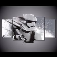 star wars decor aliexpress com buy hd printed star wars episode movie painting