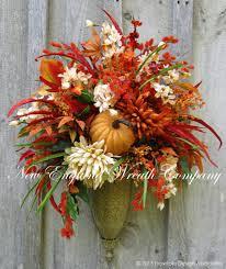 fall planters wedding centerpieces on budget flower arrangements