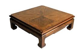 thomasville round coffee table side table thomasville side table teak square vintage wood coffee
