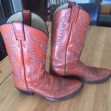 womens cowboy boots size 11 1 2 justin s pull on boots ebay