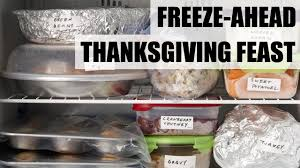 freeze ahead thanksgiving feast food network
