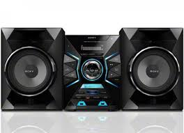 home theater system sony sony 1200 watt audio system mhcgpx33 hsds home shopping