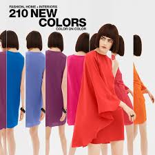 fashion home interiors hyatt s pantone fashion and home cotton swatches tcx