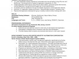 Qa Resume With Retail Experience Clearcase Administration Sample Resume Stage Carpenter Cover