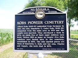 cemetery markers marker monday encore kobs cemetery one of nshs s newest markers