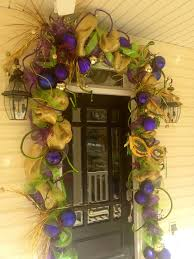 mardi gras decorations clearance mardi gras front door garland i made it using christmas clearance
