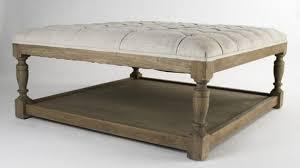 brilliant nice large leather ottoman coffee table large storage