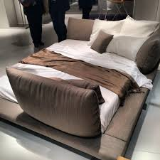 maly bed by peter maly makes a comeback at immcologne ligneroset