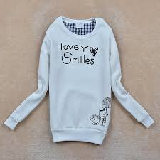 drop shipping sale women casual lovely smile face hoodies