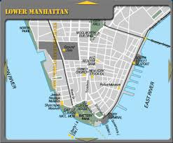tourist map of new york lower manhattan new york city hotel map battery park nyc mappery