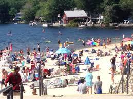 Rhode Island lakes images Spring lake beach town of burrillville ri jpg