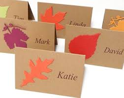 thanksgiving buffet cards food label cards personalized