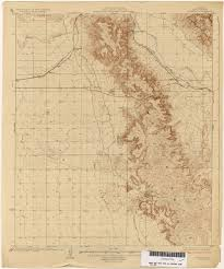 Map Of Arizona State by