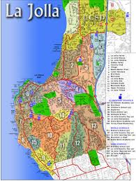 Glendora Wildfire Map by Map Of La Jolla California California Map