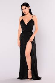 black maxi dress satin maxi dress black