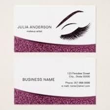 gifts for makeup artists makeup artist business card with glitter effect makeup artist